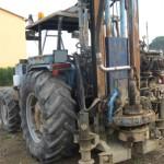 Perforatrice trattore Landini